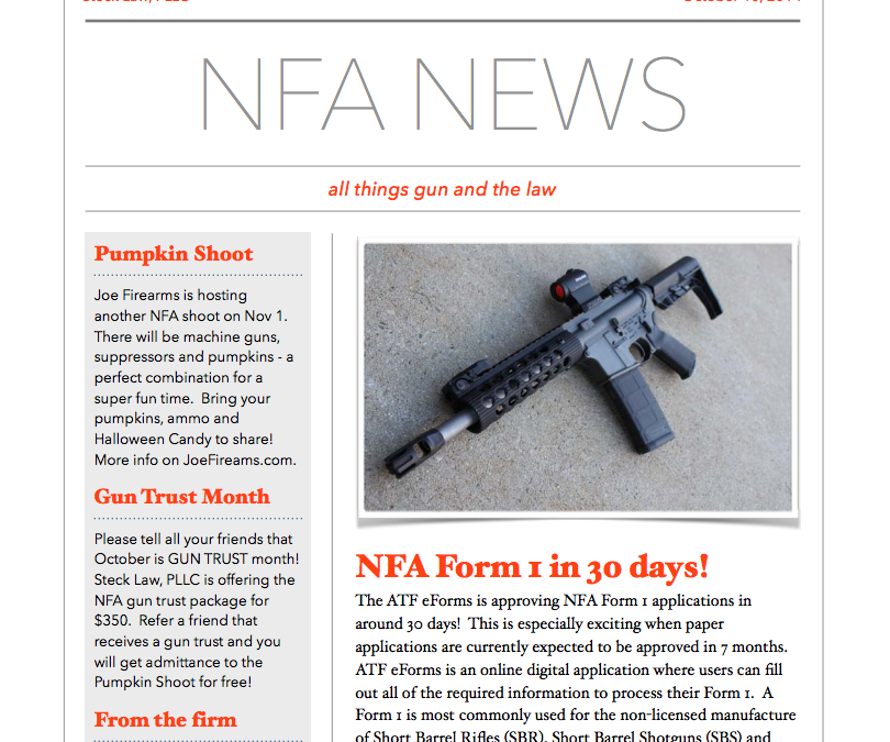 NFA News Vol 1